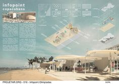 Concurso de Arquitetura   Infopoint Olimpíadas