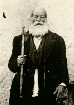 Dervish Bageh, one of Hadj Nemat's dervishes. Nematollah Mokri Jeyhounabadi (1871-1920), who would later become known as Hadj Nematollah or Hadj Nemat, was a Kurdish mystic who is perceived as one of the most prominent figures of the Ahl-e Haqq order. In addition to the many wonders attributed to him, the sweeping reforms that he introduced within the Ahl-e Haqq community are among his remarkable achievements.    #Islam #Sufism #Esoterism #Mysticism #Spirituality #God #Religion #Allah