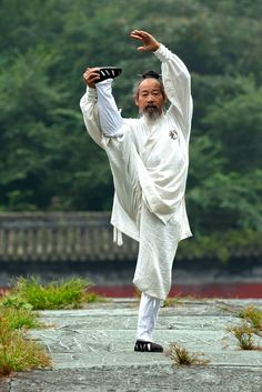 73 years old Tai Chi Master - Wudang mountain, China by George Doupas