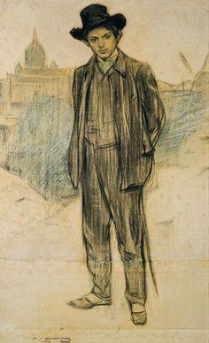 Portrait of Pablo Picasso, 1900