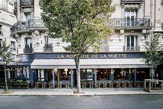 Le nouveau look de La Rotonde de La Muette : l'extérieur du restaurant