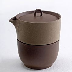 Zisha Tea Project - Single Teapot + Cup by Neri & Hu.