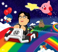 Satoru's Rainbow by professorhazard.deviantart.com on @DeviantArt