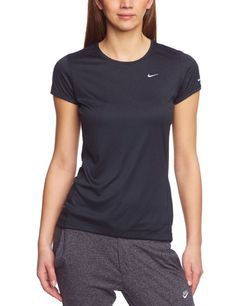 Amazon.com: Nike Womens Miler Short Sleeve Crew Top: Sports & Outdoors