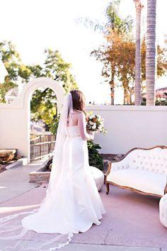 Muckenthaler Mansion, Fullerton, CA | Mansion Wedding | Wedding Venues in California | PC: Honey Honey Photography