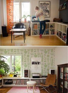 Records Vinyl Storage Display Ideas Photos (3)