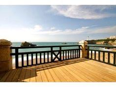 Back deck in Biarritz, France