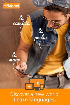 Traveling to a Spanish speaking country or just want to learn Spanish for fun? Babbel is the better way to learn a language. Start now!