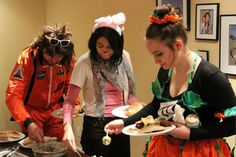 Enjoy our food during our Halloween Party 2012