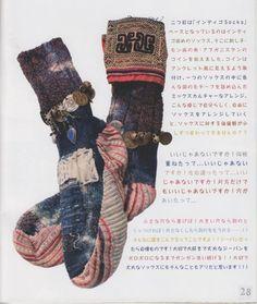de la chaussette, de la reprise, tout ce que j'aime  rosapomar:    ♥ Kapital
