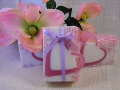 Berry Lovely is a sweet creamy blend of ripe berries and vanilla cream.~Hand Made Soaps~