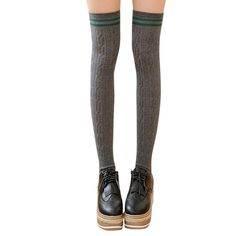 13bc044f83e 3 Colors Football Socks Soccer lacrosse Rugby Sport Knee High Socks Over  The Knee Stocking Pattern