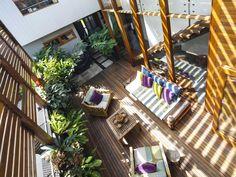 A Lush Sydney Eco House Built Around a Living Courtyard