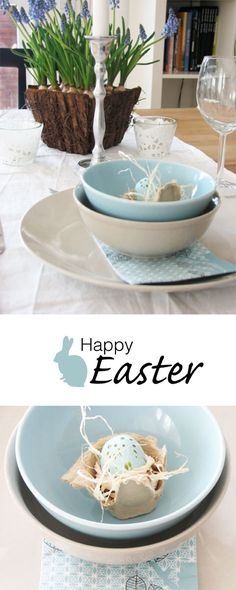 Living In: Easter Table Setting