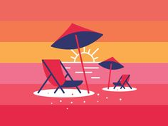 Beach Chairs / James Graves