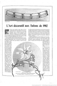 The Modes: Monthly Magazine Illustrated Des Arts Décoratifs applied to the woman 1902-07 Gallica