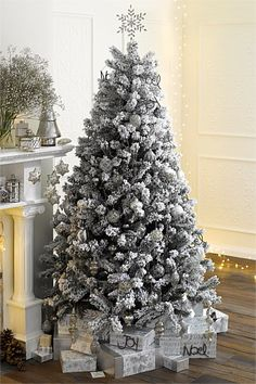 Christmas Sneak Peek  - 7ft Frosted Christmas Tree