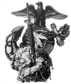Tattoos on pinterest usmc tattoos marine corps tattoos for Iwo jima tattoo