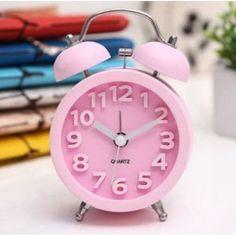 Relógio Despertador Colorido