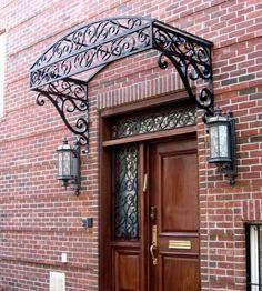 iron door trellis - Google Search