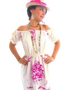 La vida En Rosa Romantic  vintage Mexican by elizabethpalmer, $165.00