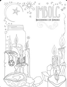 Coloring Book Of Shadows