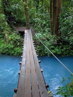 Blue River, Rio Celeste, Costa Rica