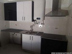 SENHOR FAZ TUDO - Faz tudo pelo seu lar !®: Montagem de uma cozinha Brico Depot na Moita