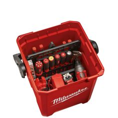 Milwaukee 13 in. Jobsite Work Tool - The Home Depot You can find Milwaukee and more on our website.Milwaukee 13 in. Jobsite Work Tool - The Home Depot Tool Storage, Storage Boxes, Milwaukee Tool Box, Insulation Materials, Tool Shop, Work Tools, Garage Organization, Hand Tools, Diy Tools