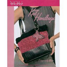 Leisure Arts-Knit Handbags - I Crochet World Crochet World, Knitting Kits, Leather Flowers, Clutch Purse, Fashion Handbags, Sewing Crafts, Messenger Bag, Shoulder Bag, Tote Bag