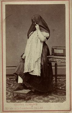 billyjane:Courret Hermanos (Lima, Peru)~ La Tapada 1860