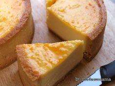 焼きチーズタルト♪ - ゆっくりBakingな暮らし@cafeパートⅡ