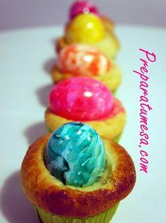 Deliciosas mini-monas de Pascua