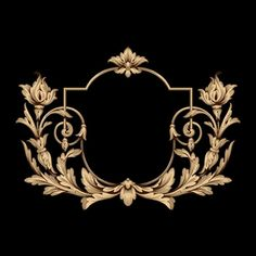 Baroque Design, Baroque Pattern, Pattern Art, Textile Patterns, Textile Design, Baroque Tattoo, Pretty Images, Album Design, Ornaments