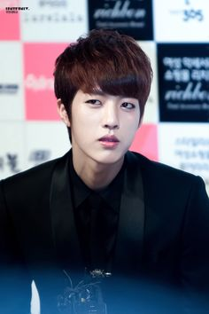 """#Infinite #SungYeol """"bitch said what?"""" Bitch faced sungyeol has now been revealed LOL"""