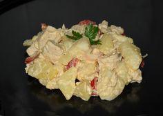 Reteta Salata din piept de pui cu cartofi si maioneza din categoria Salate diverse Yami Yami, Potato Salad, Food And Drink, Cooking Recipes, Ethnic Recipes, Backyard, Crafts, Salads, Diet