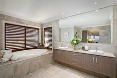 I just viewed this inspiring Waldorf 46 Master Ensuite image on the Porter Davis website.