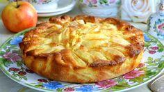 Итальянский яблочный деревенский пирог