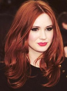 Red hair is not for the faint of the heart. Red hair color is a fierce and bol. Red hair is not fo Pretty Hairstyles, Easy Hairstyles, Redhead Hairstyles, Hairstyle Ideas, Bouffant Hairstyles, Beehive Hairstyle, Updos Hairstyle, Fringe Hairstyles, Feathered Hairstyles