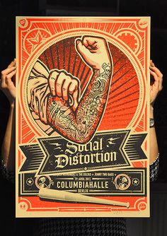 GigPosters.com - Social Distortion - Jonny Two Bags - Jessica Hernandez And The Deltas