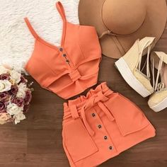 Really Cute Outfits, Cute Comfy Outfits, Cute Summer Outfits, Skirt Outfits, Chic Outfits, Trendy Outfits, Summer Fashion Outfits, Cute Fashion, Mode Rockabilly