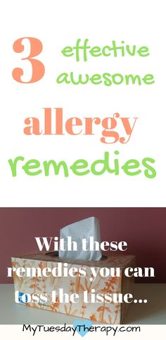 Looking for natural allergy remedies that work fast? Check out these! | #allergies #naturalremedies #adrenalfatigue #immunesystem