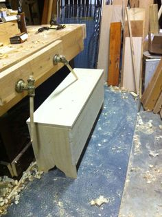 The Anarchist's Sawbench Box Chest Storage Device