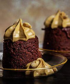 Szuper gyors brownie keksz | Street Kitchen Just Cooking, Green Kitchen, Fine Dining, Street Food, Nutella, Tiramisu, Brunch, Ice Cream, Pudding