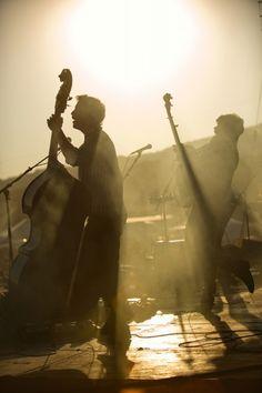 ...summer... evening...live music