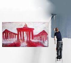 Echt günstig kaufen: Große Kunst, moderne Malerei, abstrakte Gemälde, Leinwandbilder, Ölgemälde, Acrylbilder... in 2 Berliner Galerien