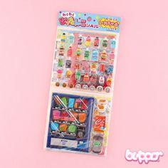 Japanese Vending Machine Sticker Set