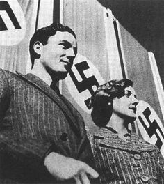 W.W. II, Tom and Diana Mitford, siblings, Nazi supporters