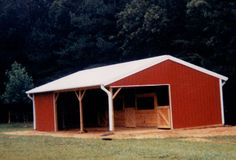 Pole barns by affordable barn builders