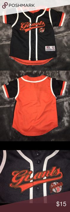 Kids San Francisco Giants Jersey Great condition. No damage or stains. Made of good quality material. Shirts & Tops